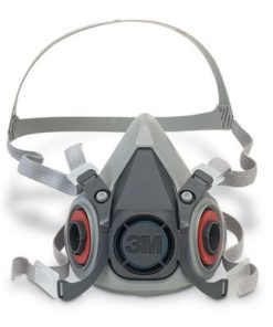 3M 6100 SERIES REUSABLE HALF FACE MASK