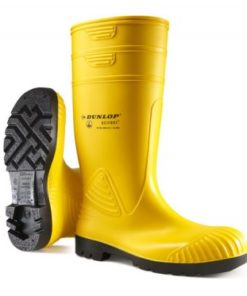 HEAVY DUTY FULL SAFETY WELLINGTONS YELLOW