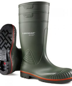 HEAVY DUTY FULL SAFETY WELLINGTONS GREEN