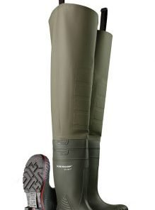 RIBBED THIGH WELLINGTONS