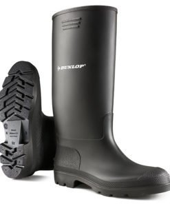 PRICEMASTER NON SAFETY WELLINGTONS BLACK