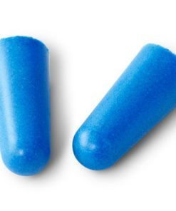 FOAM DISPOSABLE EAR PLUGS (BOX OF 100)
