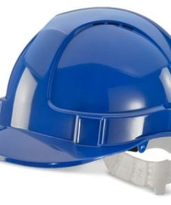 ECONOMY VENTED SAFETY HELMET BLUE