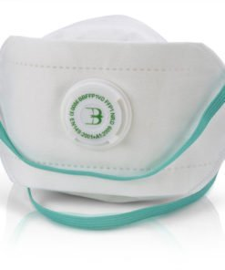 P1 PREMIUM FOLD FLAT MASK VALVED (PACK OF 20)