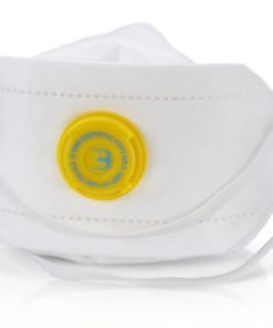 P3 PREMIUM FOLD FLAT MASK VALVED (PACK OF 20)