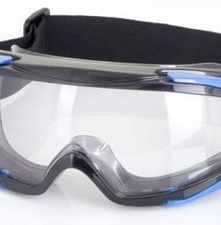 CLEAR GOGGLES WITH FACE SEAL