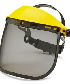 STEEL MESH FACE VISOR 7.5 INCH FOR HEAD GEAR CARRIAGE