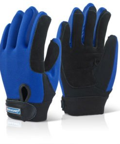 BLUE POWERTOOL GLOVES