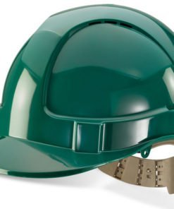 GREEN VENTED SAFETY HELMET PREMIUM