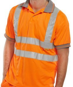 SHORT SLEEVE POLO HI VIS