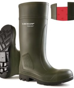 PROFESSIONAL FULL SAFETY WELLINGTONS GREEN