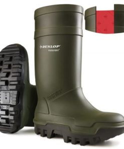 THERMO PLUS FULL SAFETY WELLINGTONS GREEN