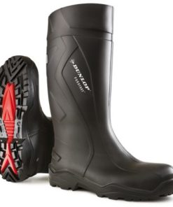 PUROFORT FULL SAFETY WELLINGTONS BLACK