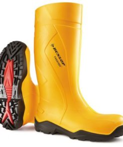 PUROFORT FULL SAFETY WELLINGTONS YELLOW