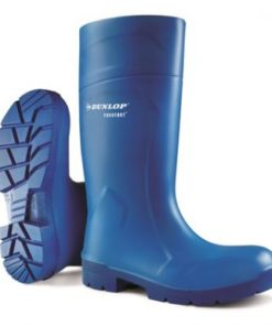 PUROFORT MULTI GRIP SAFETY WELLINGTONS BLUE