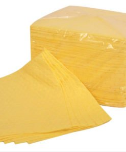 CHEMICAL ABSORBENT PADS (PACK OF 100)