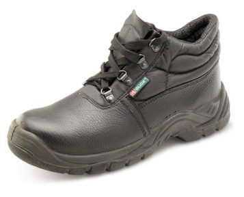 DUAL DENSITY CHUKKA MID SOLE BLACK BOOTS