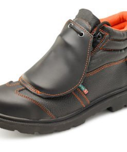 METATARSAL BLACK BOOTS PU RUBBER