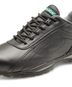 DOUBLE DENSITY BLACK GREY TRAINER SHOES