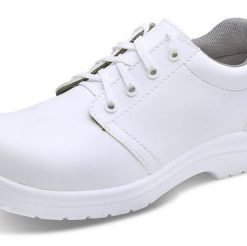 MICRO FIBRE WHITE TIE SHOES