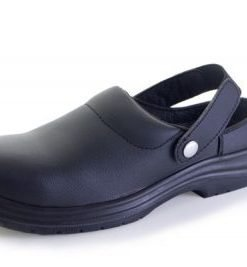 MICRO FIBRE BLACK SLIPPERS