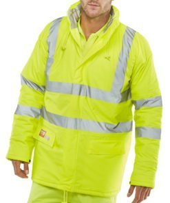 FLAME RETARDANT JACKET YELLOW