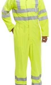 FIRE RETARDANT ANTI STATIC HIVIS BOILER SUIT