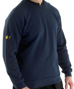 FLAME RETARDANT ANTI STATIC SWEATSHIRT NAVY