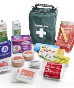 INSECT REPELLENT FIRST AID TRAVEL KIT