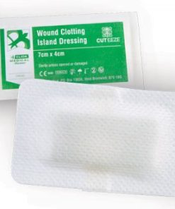 HAEMOSTATIC DRESSING 7x4CM (BOX OF 20)