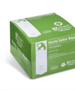 STERILE SALINE CLEANSING WIPES