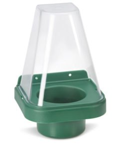 SINGLE EYEWASH STAND WITH COVER
