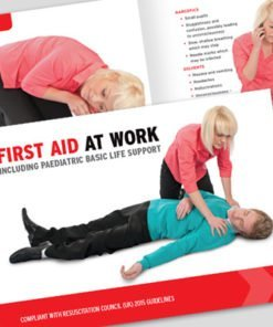FIRST AID AT WORK TRAINING MANUAL