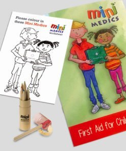 CHILDRENS FIRST AID ACTIVITY PACK