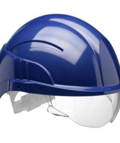 VISION PLUS SAFETY HELMET WITH INTEGRATED VISOR