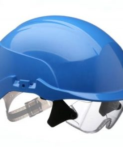 SPECTRUM HELMET WITH INTEGRATED EYE PROTECTION