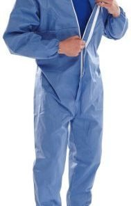 DISPOSABLE TYPE 5/6 BOILERSUIT COVERALL (BOX OF 20)
