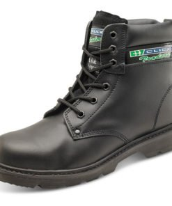 DUAL DENSITY 6 INCH BLACK BOOTS