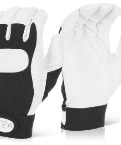 DRIVERS GLOVES WITH VELCRO CUFF (PACK OF 10)