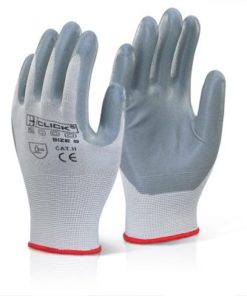 NITRILE FOAM POLYESTER GLOVES