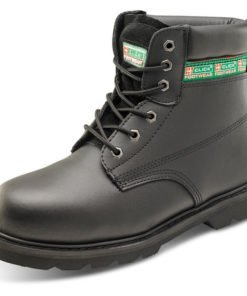 GOODYEAR WELTED BLACK BOOTS
