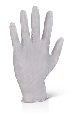 LATEX DISPOSABLE GLOVES POWDER FREE