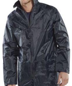 LIGHTWEIGHT NYLON JACKET WITH PVC COATING