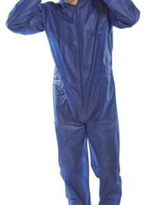 FABRIC DISPOSABLE BOILERSUIT (BOX OF 50)