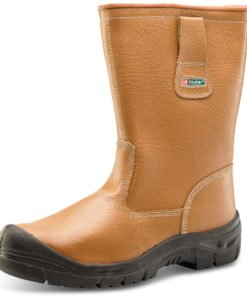 RIGGER BOOTS LINED STEEL CAP TAN
