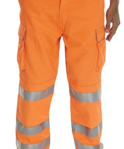 Railway hi vis trousers orange