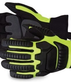 CLUTCH GEAR WINTER GLOVES BLACK AND YELLOW
