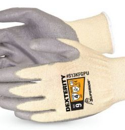 DEXTERITY PU PALM COATED GLOVES