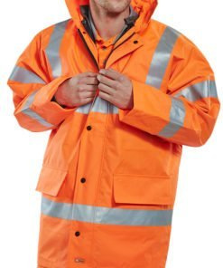 4 IN 1 JACKET & BODYWARMER ORANGE
