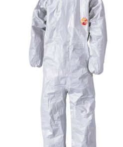 CHEMICAL PROTECTION GREY DISPOSABLE COVERALL
